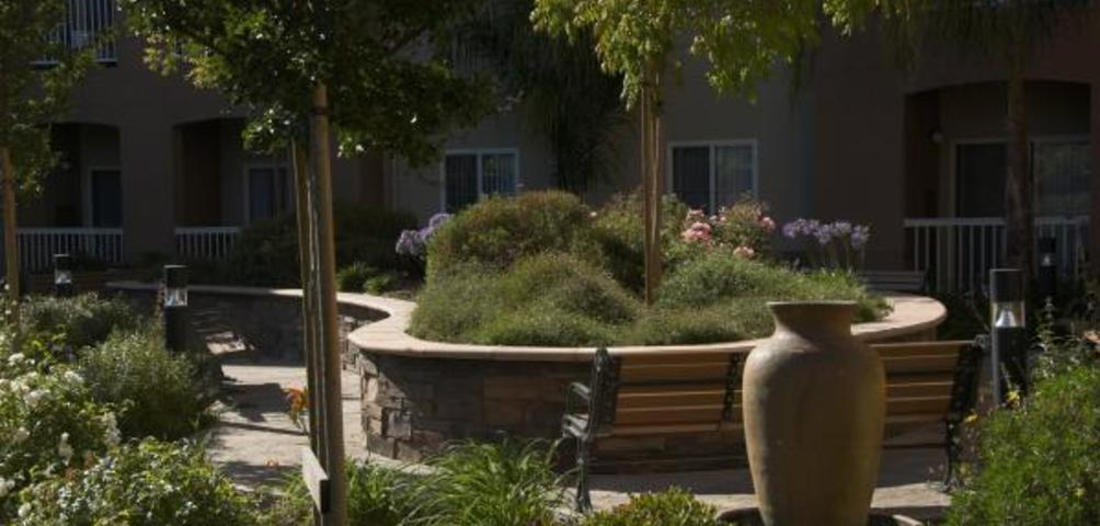 Hayward Village Senior Apartments Garden