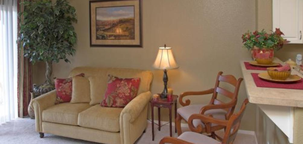 Hayward Village Senior Apartments Living Room