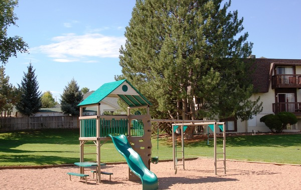Woodhaven Apartments & Townhomes Playground