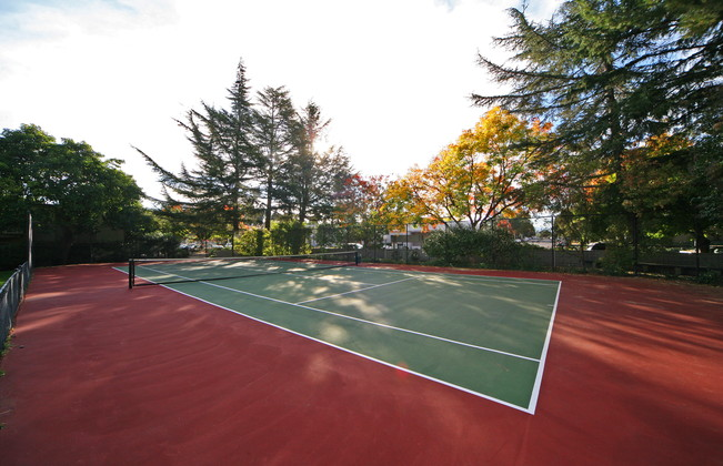 Greenpointe Apartments Tennis Court Photo