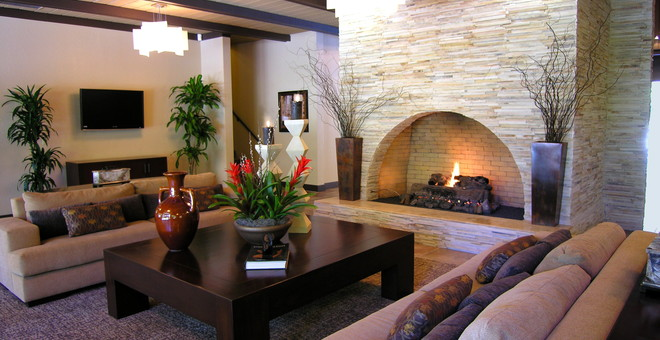 Fair Oaks West Fireside Lounge Photo